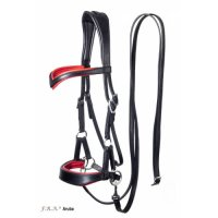 Aruba Side Pull Bitless Bridle And Reins
