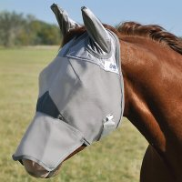 Cashel Crusader Horse Fly Mask – LONG NOSE WITH EARS