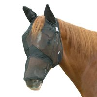 Cashel Crusader Quiet Ride Horse Fly Mask