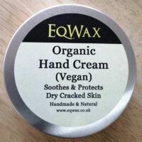 EqWax Riders Organic Vegan Unscented Hand Cream – 100 Grams