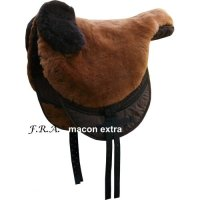 Macon Extra Sheepskin Bareback Pad / Saddle