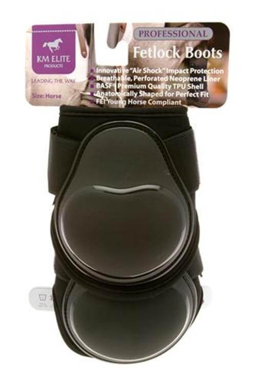 KM Elite Sirshock Fetlock Boots