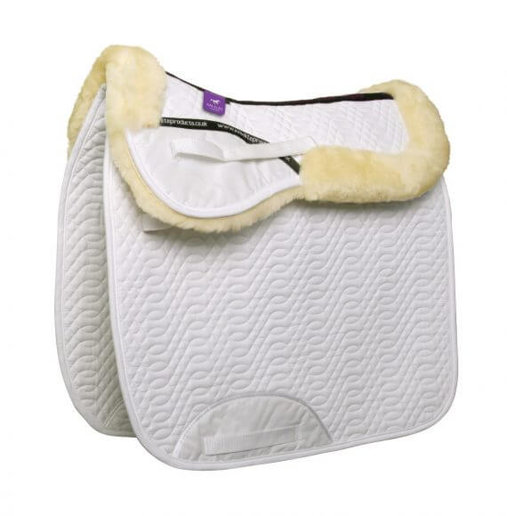 KM ELITE COTTON HIGH WITHER DRESSAGE SQUARE