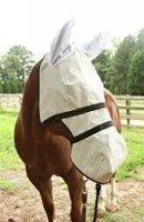 Nags Horse Ranch The California Trail Rider Full Face Shade with Ears