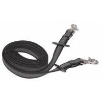 Zilco Synthetic Supergrip Reins 22mm With Stainless Snap Clips